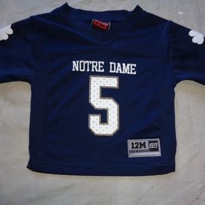 Notre Dame Irish INFANT JERSEY SHIRT 12 month 12 m